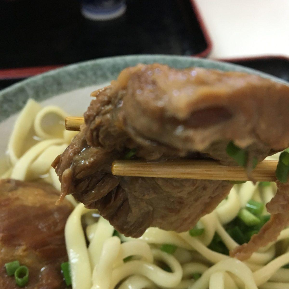 沖縄そば鶴亀 軟骨ソーキ